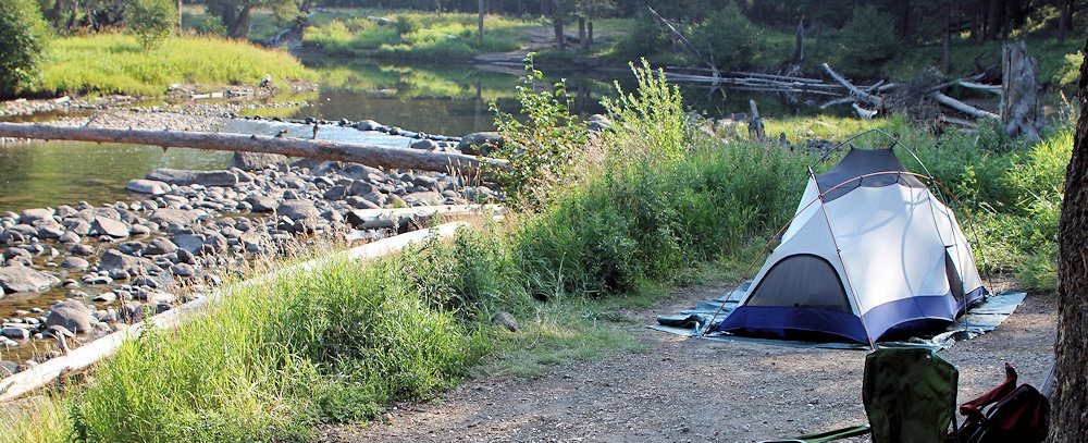 Slough cCreek Campground